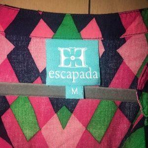 escapada Tops - Escapada Geometric 3/4 sleeve colorful top🆕🆕
